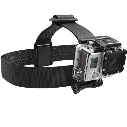 Sabrent GoPro Head Strap Camera Mount  $2 (Facebook Req.)
