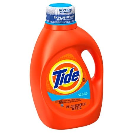 2-Ct 100oz Tide Liquid Laundry Detergent + $5 Target Gift Card  $14 + Free Shipping