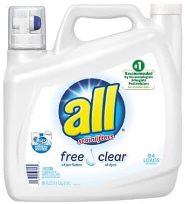 2x 141oz All Liquid Laundry Detergent + $5 Target Gift Card  $12.80 + Free Shipping