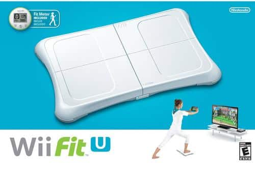 Nintendo Wii Fit U w/ Balance Board & Fit Meter: 2 for $30,  1 for $18 + Free Shipping