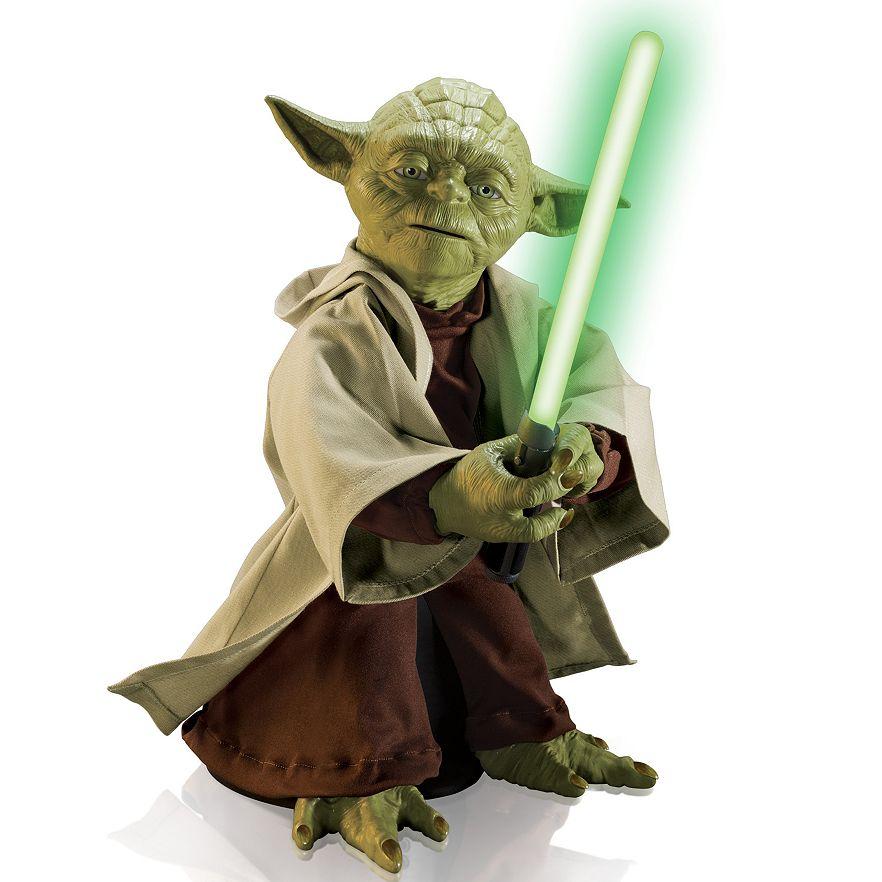 "Kohl's Cardholders: 16"" Star Wars Legendary Yoda Interactive Toy  $16.80 + Free Shipping"
