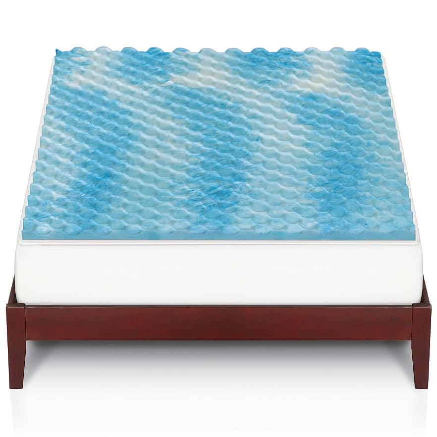 Kohl's Cardholders: The Big One Gel Memory Foam Mattress Topper  $24.50 + Free Shipping