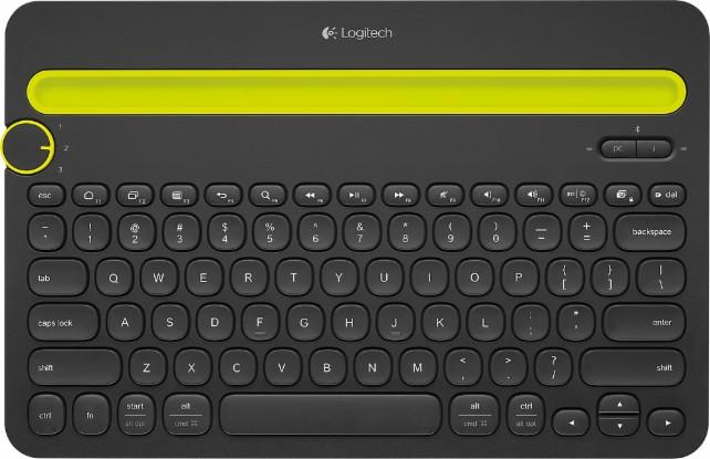 Logitech K480 Bluetooth Multidevice Keyboard  $23.75