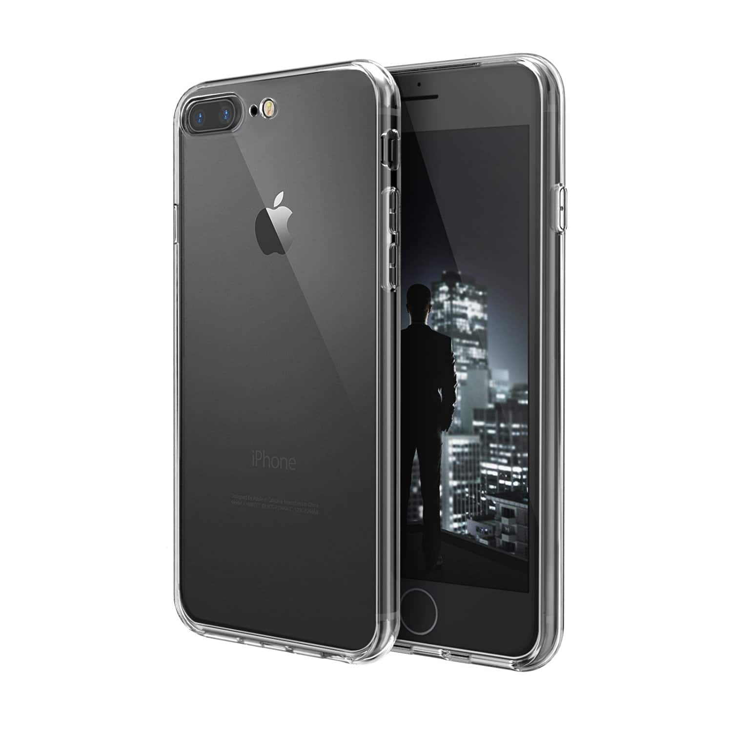 Swees iPhone 7 Plus Thin Fit Slim Clear Case  $1