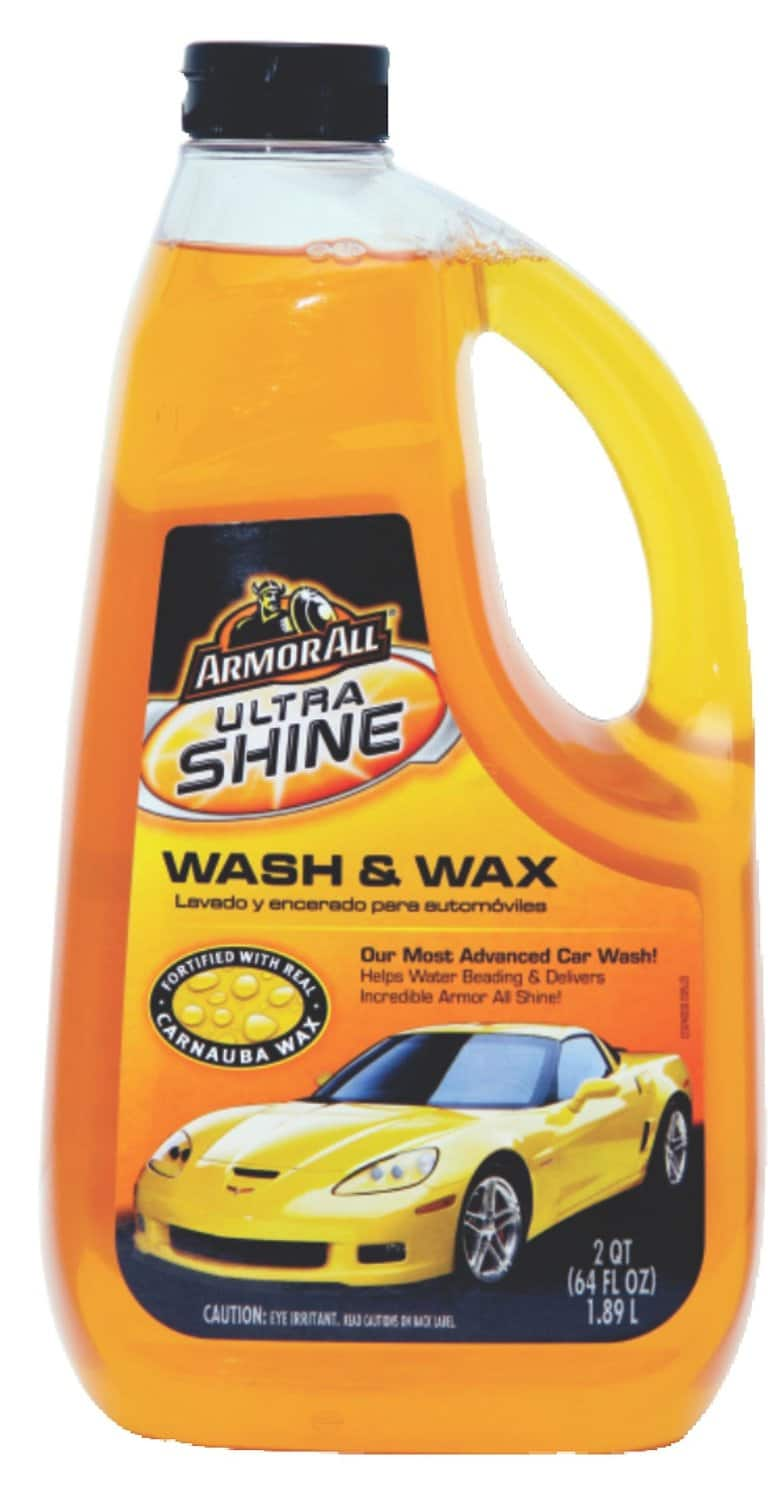 64oz Armor All Ultra Shine Wash and Wax  $3.30 + Free Shipping