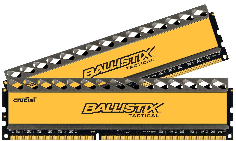 Prime Members: 16GB (2x8GB) Crucial Ballistix DDR3 1600 Memory  $58.40 + Free Shipping