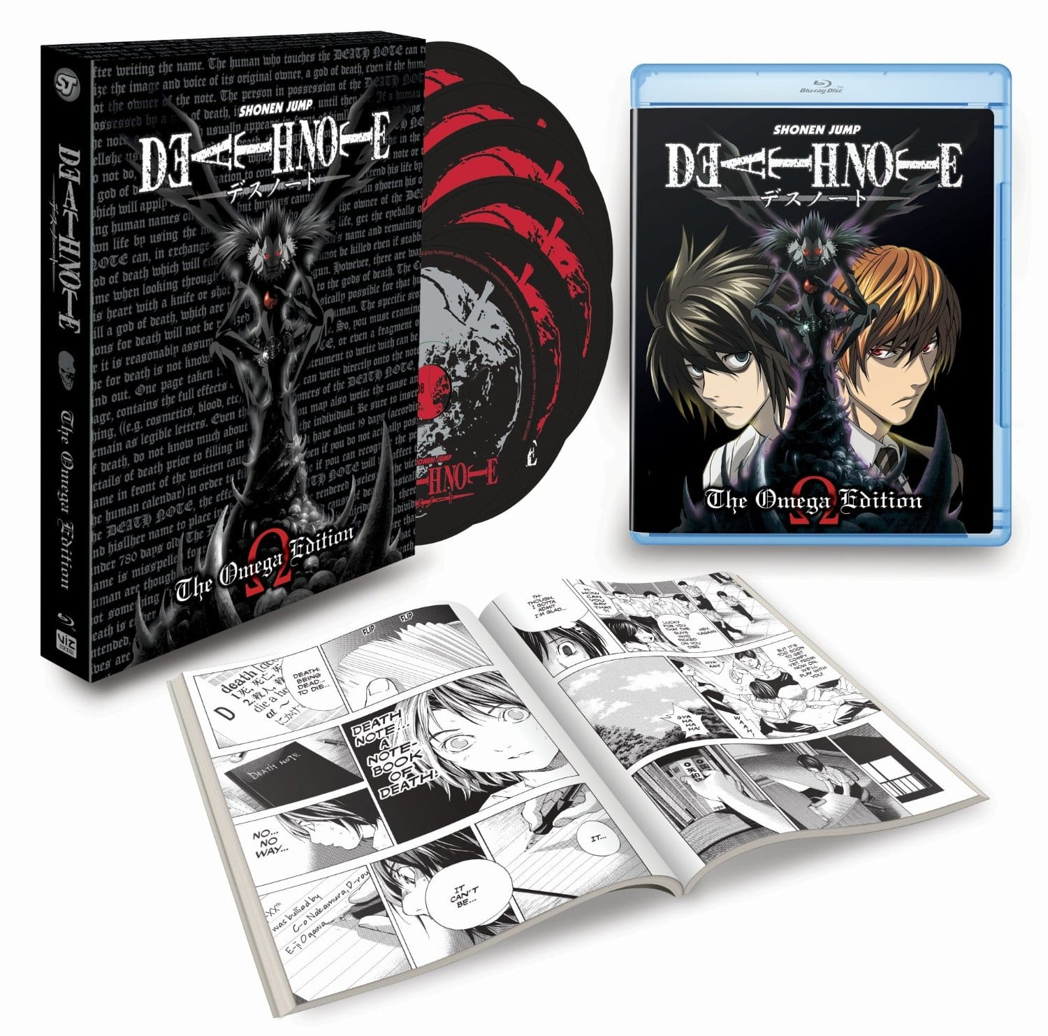 Death Note: Omega Edition (6-Disc Blu-Ray) $39.99 via Amazon