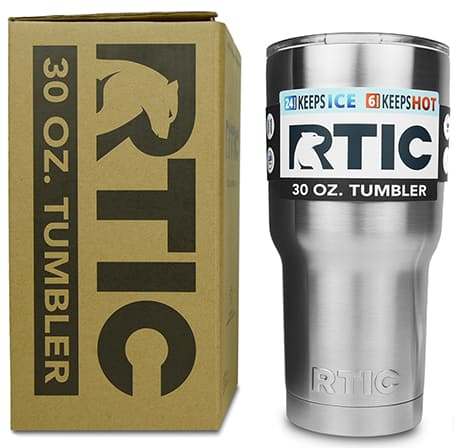 RTIC Sale: 30oz 18/8 Stainless Steel Tumbler $10, 18oz Bottle  $6.70 & More + Free S/H on $35