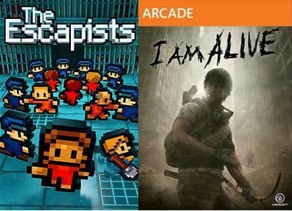 Digital Games: The Escapists (Xbox One), I Am Alive (Xbox 360)  Free (XBL Gold Membership Req.)