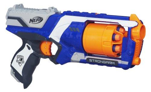 Nerf N-Strike Elite Strongarm Blaster $7.90, DualStrike Blaster $8 & More + Free S&H