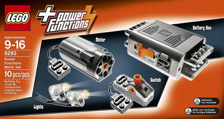 LEGO Technic Power Functions Motor Set $22.31 + Free Shipping w/ Prime or FSSS