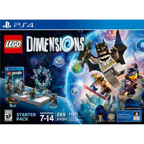 GCU Members: LEGO Dimensions Starter Pack (PS4, Xbox One or Wii U) $35.99, Fun Packs $4.99, Team Packs $9.99, Level Packs $11.99 & More + Free Shipping