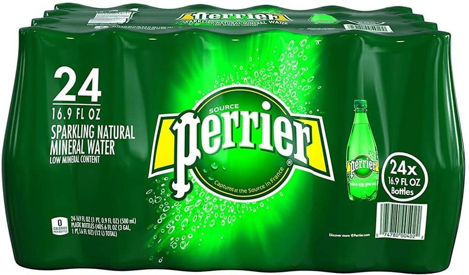 24-Pack of 16.9oz. Perrier Sparkling Natural Mineral Water $10 + Free Shipping
