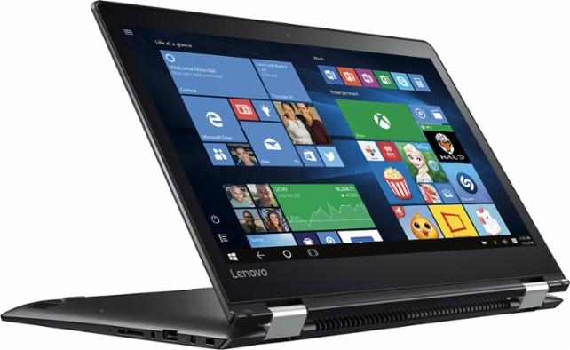 "Lenovo Flex 4 2-in-1 14"" Touchscreen Laptop: Intel Pentium 4405U, 4GB DDR4, 500GB HDD, Win 10 $219.99 w/ Best Buy EDU Coupon + Free Shipping"