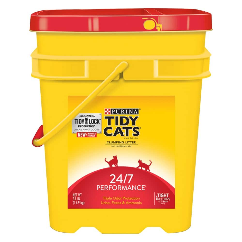 3-Pack of 35lb Tidy Cats Clumping Cat Litter (Various) + $10 Target Gift Card $30.69 & More + Free Store Pickup