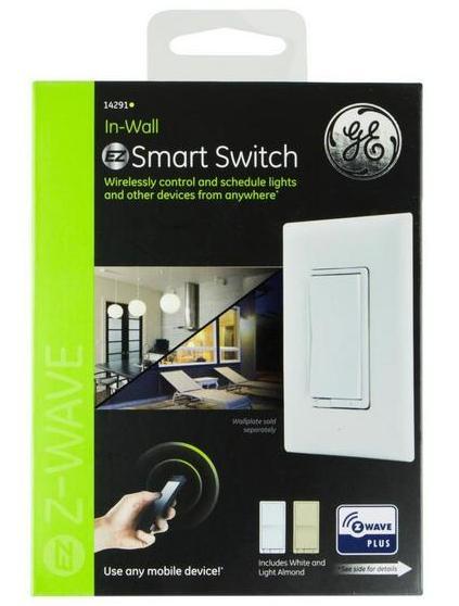 Ge Z Wave Plus Wireless Smart Lighting Control In Wall