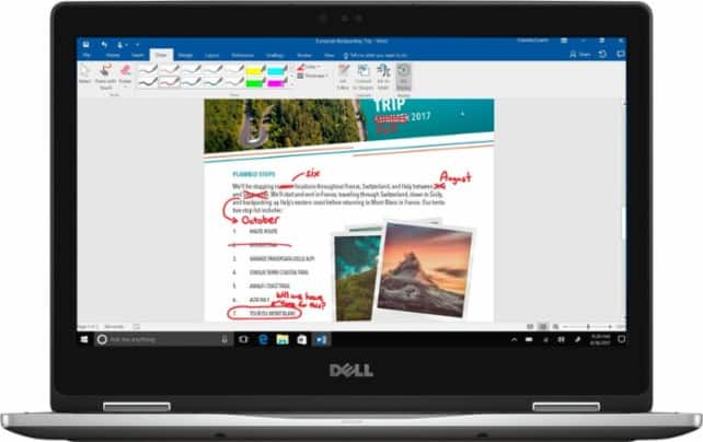 """Dell Inspiron 13 7378 2-in-1 13.3"""" Touchscreen Laptop: i5-7200U, 8GB DDR4, 256GB SSD $554.99 Or i7-7500U, 12GB DDR4, 256GB SSD $674.99 w/ Best Buy EDU Code + Free Shipping"""