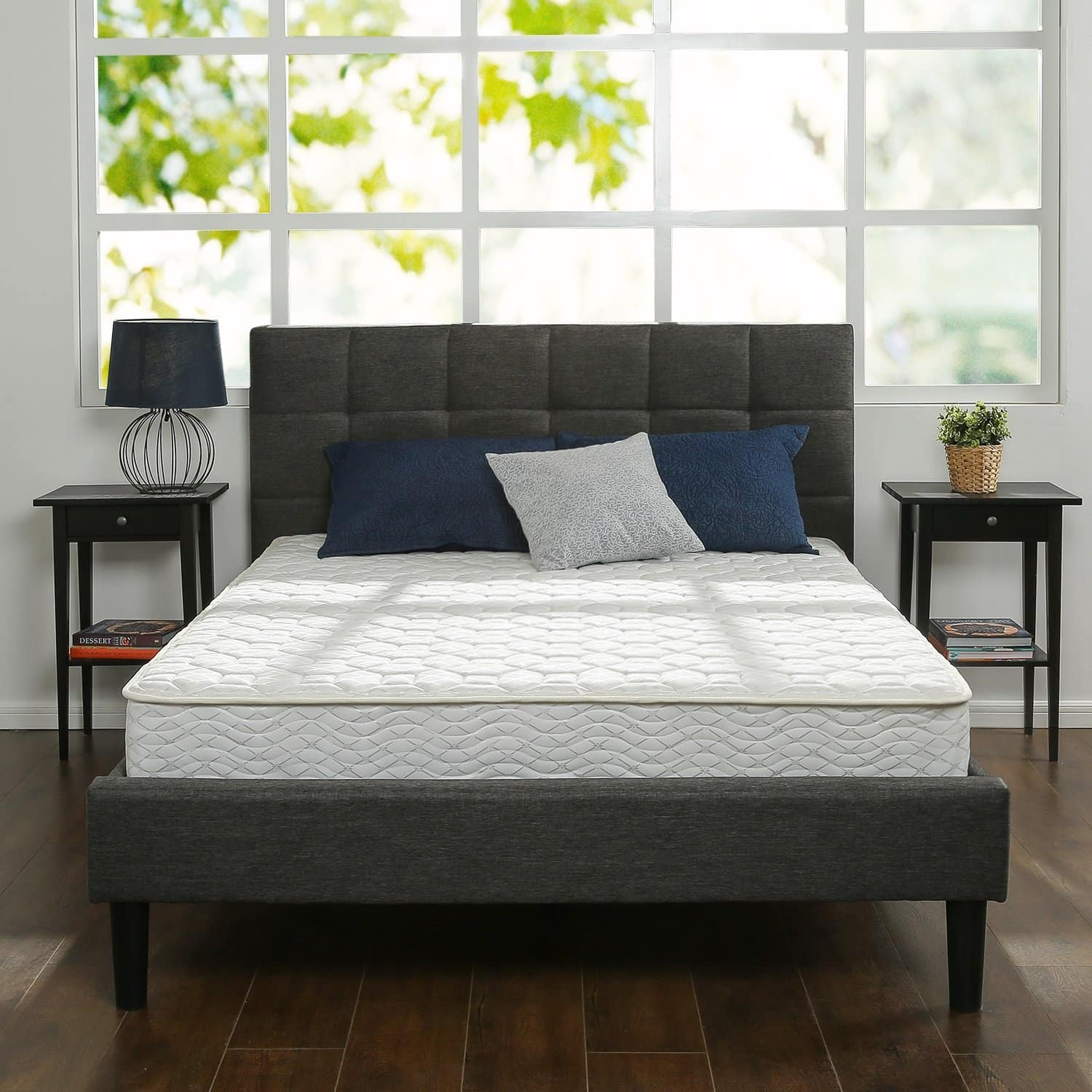 "Zinus 8"" Hybrid Green Tea Foam and Spring Mattress (California King) $93.79 + Free Shipping"