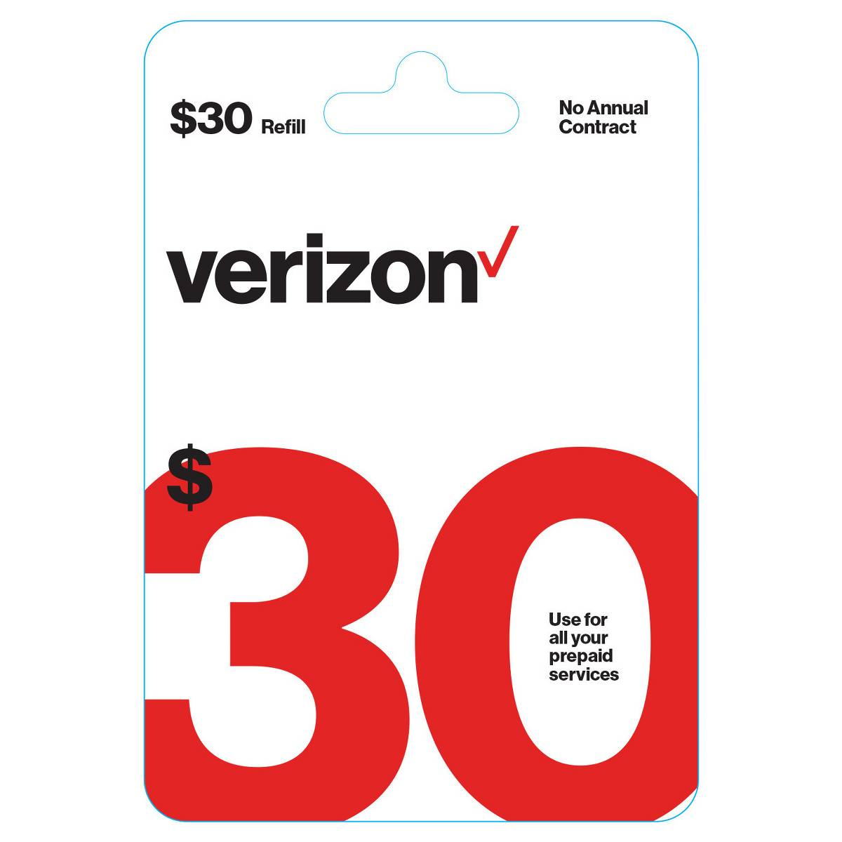 Buy 1 Get 1 20% Off Verizon Wireless Prepaid Refill Cards: 2x $30 Cards $54 (Email Delivery) & More