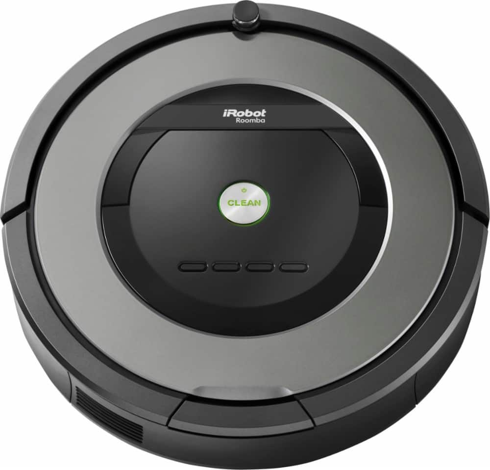 iRobot Roomba 877 Self-Charging Robot Vacuum (Black/Gray) $349.99 + Free Shipping
