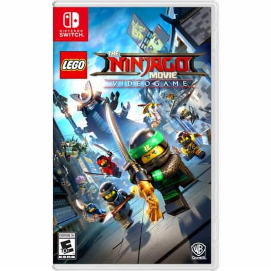 GCU Members: LEGO Ninjago Movie Video Game (Switch) $31, Rayman Legends Definitive Edition (Switch) $23, Final Fantasy XII: The Zodiac Age (PS4) $27 & More + Free Store Pickup
