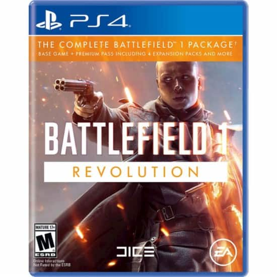 Video Games: GCU Members: Battlefield 1 Revolution (PS4 or Xbox One) $23.99, Rise of the Tomb Raider: 20 Year Celebration (PS4) $15.99 & More + Free Shipping