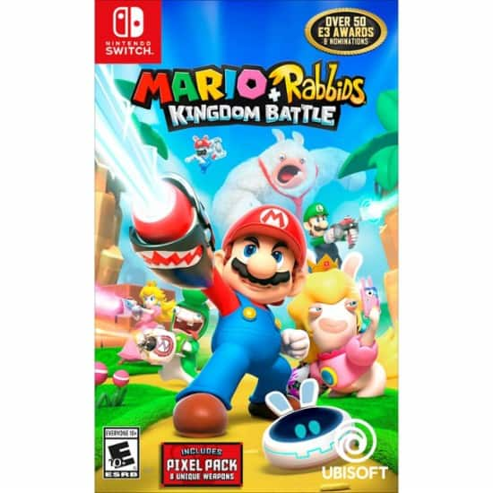 GCU Members: $30 Off Mario + Rabbids Kingdom Battle + Another Switch Game: w/ LEGO Marvel Super Heroes 2 $56, w/ The Legend of Zelda: Breath of the Wild Explorer $72 & More