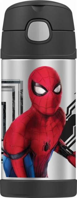 12oz Thermos Spiderman Movie Funtainer Bottle $3.99, Thermos Spiderman Movie Soft Upright Lunch Kit $4.99 + Free Shipping