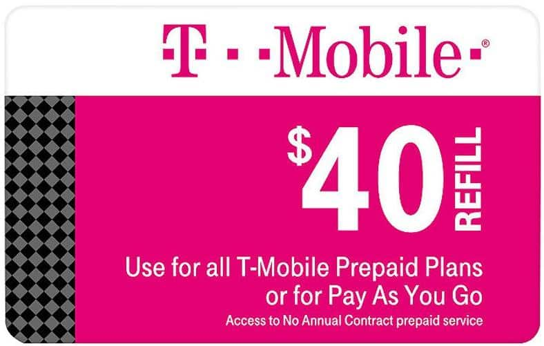 Prepaid Plan Cards: T-Mobile, AT&T, Verizon, TracFone & More