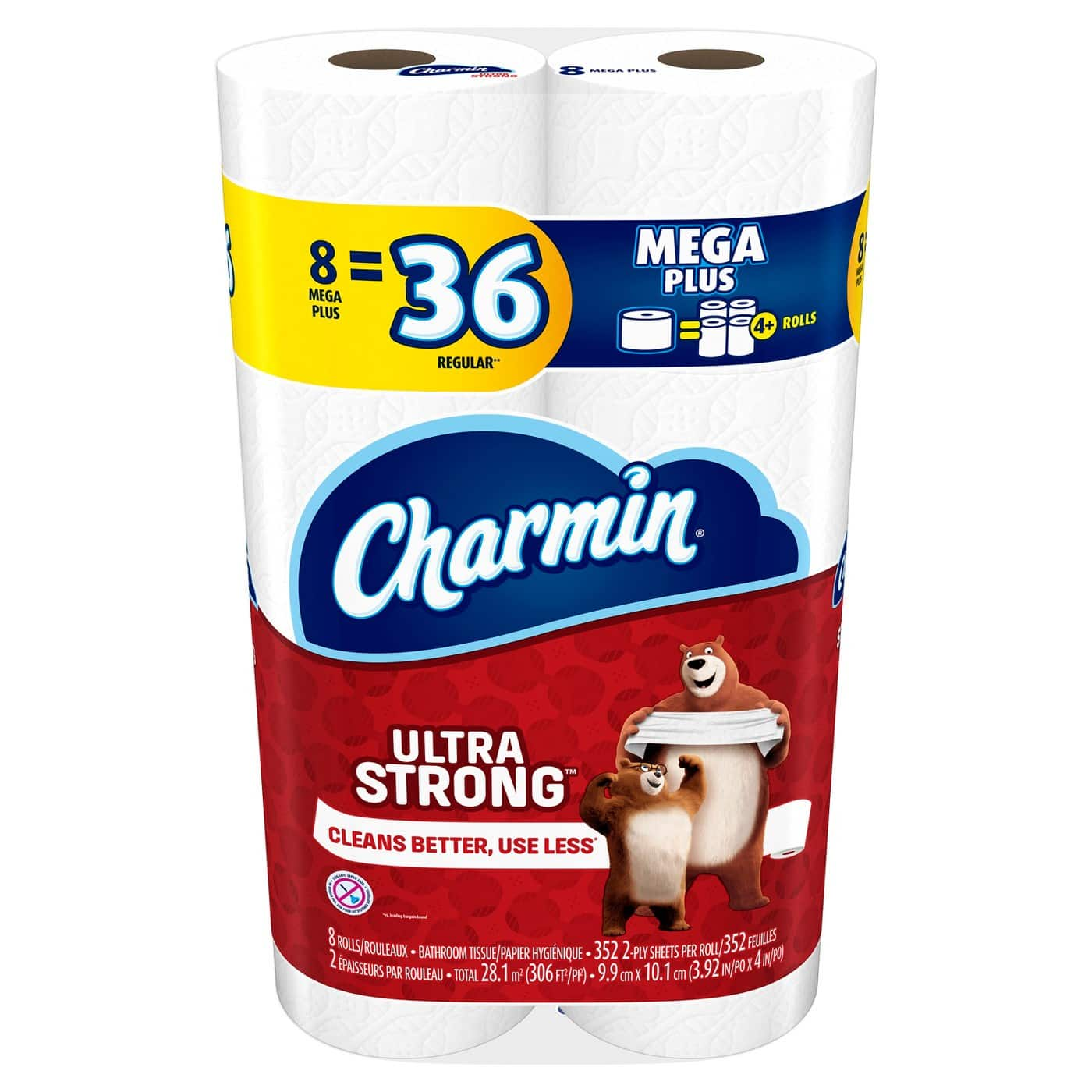 24-Ct Charmin Ultra Mega Plus Toilet Paper Rolls + $10 Target Gift Card $28.47 or 24-Ct Bounty Giant Roll Paper Towels + $10 Target Gift Card $27.90 + Free Shipping