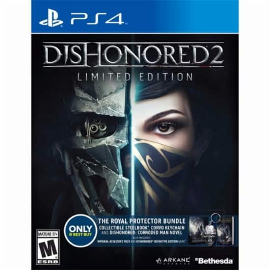GCU Members: Dishonored 2 Limited Edition Best Buy Exclusive The Royal Protector Bundle (PS4 or Xbox One) $14.99 + Free Store Pickup
