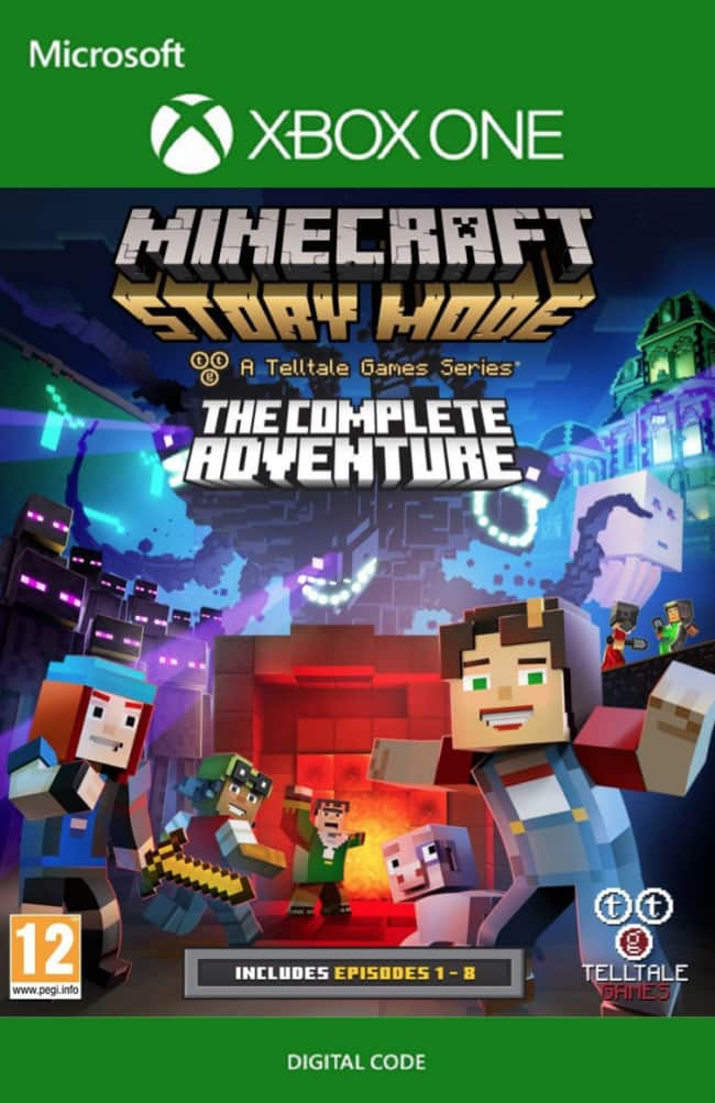 Xbox One Digital Codes: Minecraft Story Mode Complete