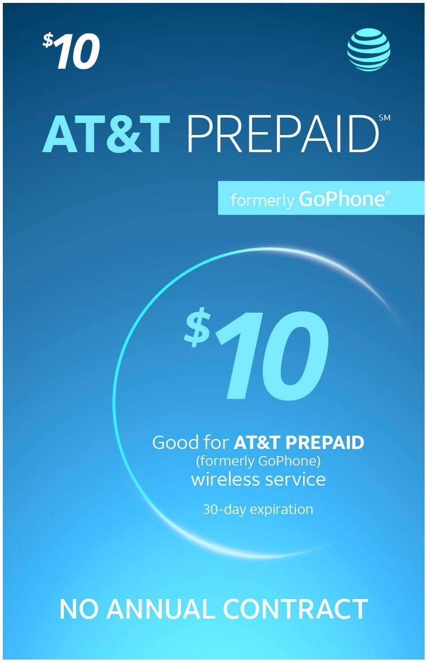 Prepaid Phone Refill Cards: AT&T, T-Mobile, Verizon & More