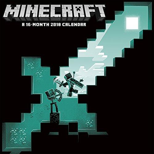 Minecraft 2018 Wall Calendar $1 + Free Shipping w/ Prime or FSSS