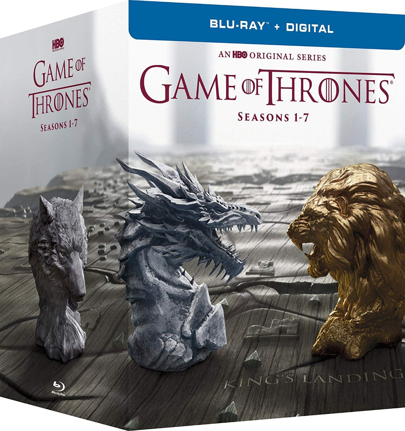 Prime Members: Game of Thrones: The Complete Seasons 1-7 (Blu-Ray + Digital HD) $74.99 + Free Shipping
