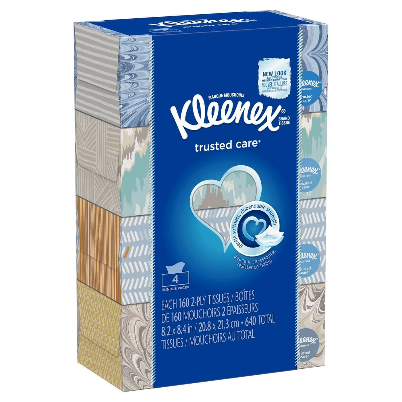 8-Pack 160-Count Kleenex 2-Ply Facial Tissues + $5 Target Gift Card $11.38 w/ S&S & More + Free Shipping