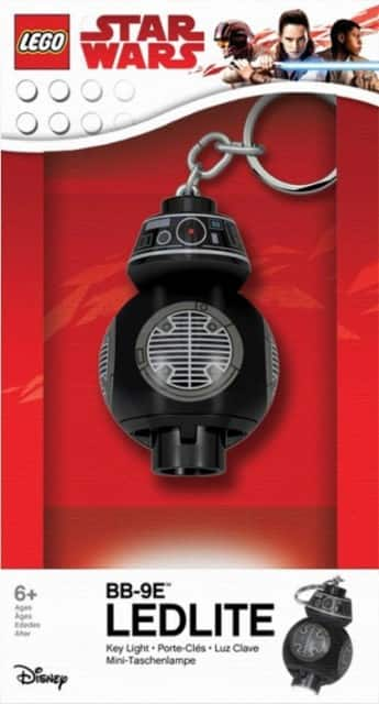 Star Wars Toys Sale: LEGO Star Wars BB-9E LED Key Light $3.99, 11-Pack Mattel Hot Wheels Star Wars: The Last Jedi Starships $9.99 & More + Free S&H on $35+ or Free Store Pickup