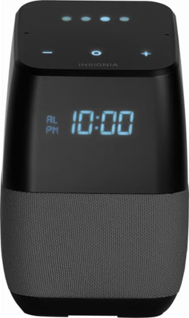 Insignia Voice Smart Bluetooth Speaker & Alarm Clock  w/ Google Assistant $24.99 + Free Store Pickup
