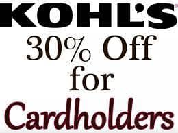 36a5434d1 Kohl's Cardholders: Coupon for Additional Savings - Slickdeals.net