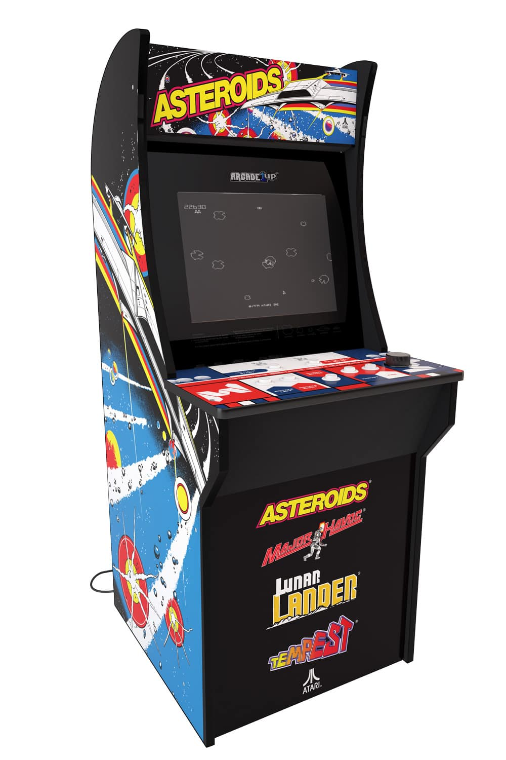 Arcade1Up Video Game Arcade Machine Cabinets (Rampage, Street Fighter, Asteroids or Centipede) $209.99 + Free Shipping