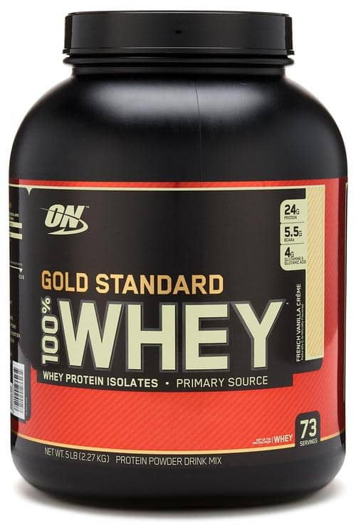0a9e714e9 5-Lbs Optimum Nutrition Gold Standard 100% Whey Protein (various ...