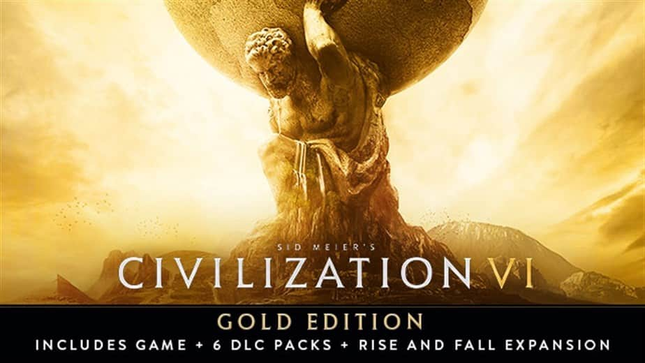 Sid Meier's Civilization VI Gold Edition (PC Digital Download) $25.19 @ Fanatical