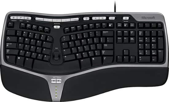 Microsoft Natural Ergonomic 4000 Keyboard $14.99 + Free Shipping (w/ Best Buy Student Deals Offer)