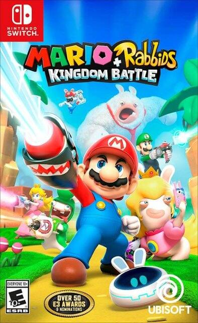 Video Games: Mario + Rabbids Kingdom Battle (Nintendo Switch) $20 & More + Free Store Pickup