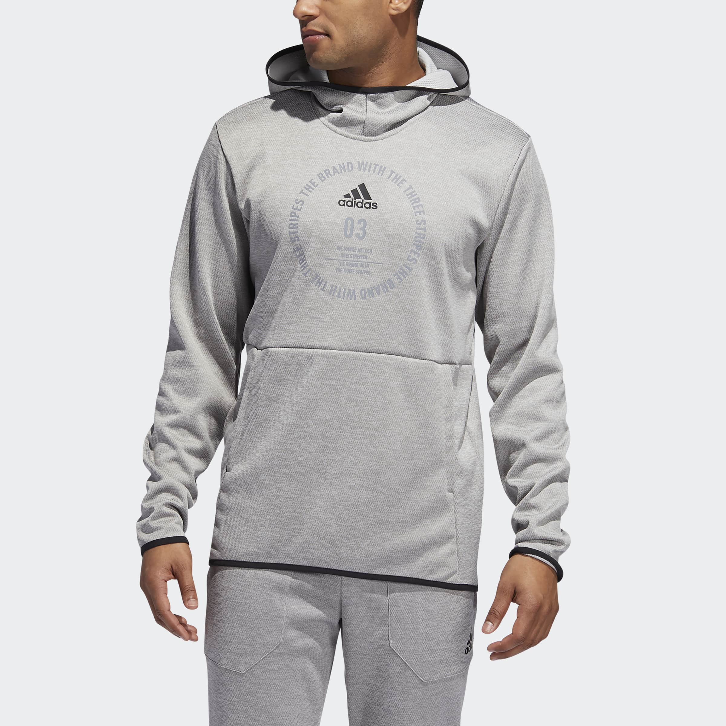 adidas Men's Team Issue Badge of Sport Hoodie (Various Colors) EXPIRED