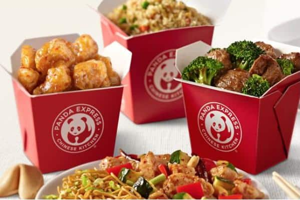 Panda Express Family Feasts (2 Large Sides + 3 Large Entrees)