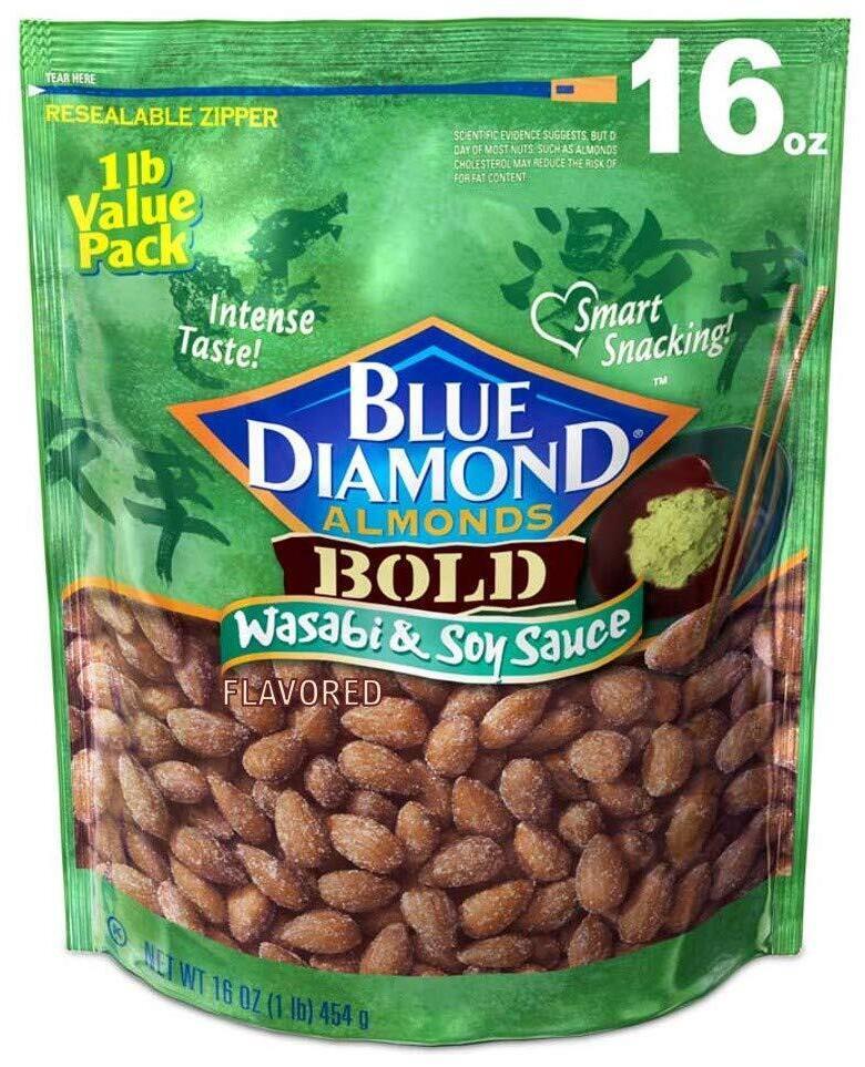 16oz Blue Diamond Almonds (Various Flavors)