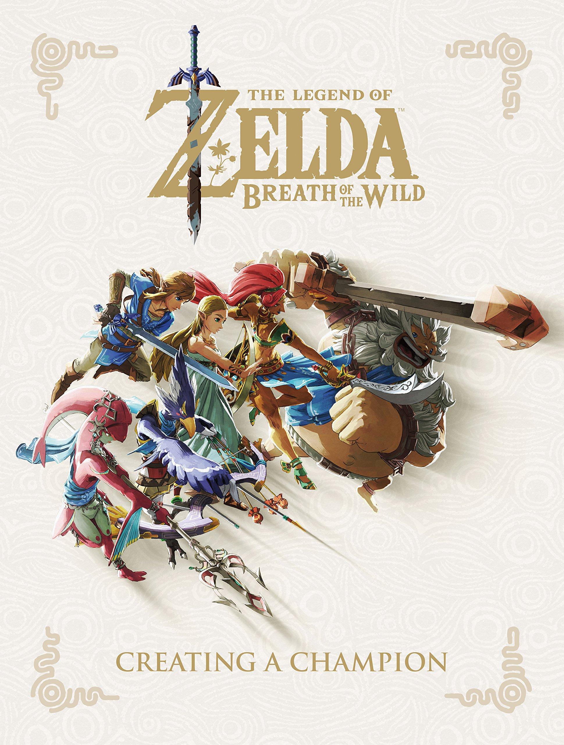 The Legend of Zelda: Breath of the Wild--Creating a Champion (Hardcover) $15.32 @ Amazon & Walmart