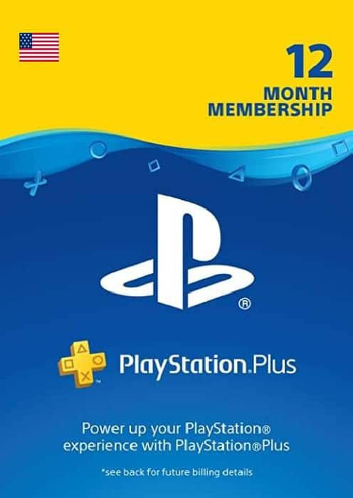 1-Year Sony PlayStation Plus Membership (Digital Delivery) $29.89