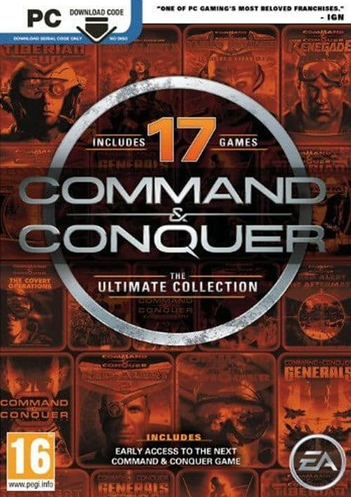 Command & Conquer: The Ultimate Collection (PC Digital Download) $3.69